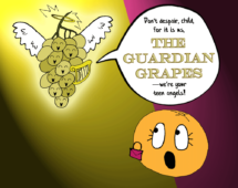 19. The Guardian Grapes give Orange some real talk