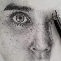 16. Monica Lee's Graphite Drawings