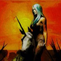 20. Instagram Artist artpourmesamies' Sexy Horse Art