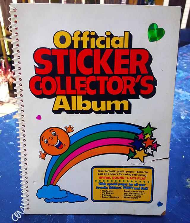 Official Sticker Collectors Album