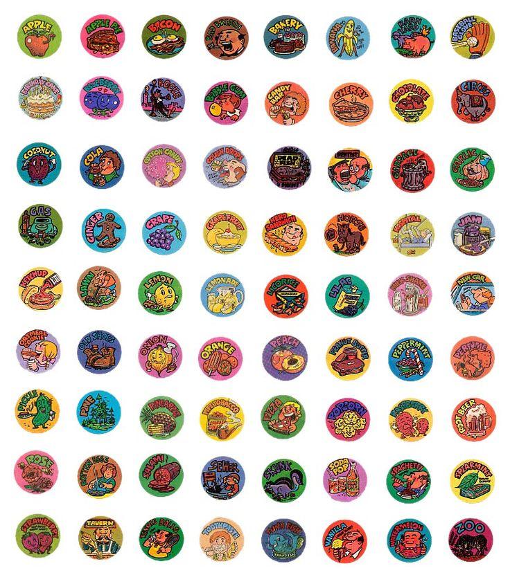 Gordy Scratch N Sniff Stickers