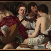 Caravaggio. The Musicians. c. 1595.