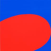 Ellsworth Kelly. Red/Blue. 1964.