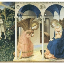 Fra Angelico. The Annunciation. 1430–1445.
