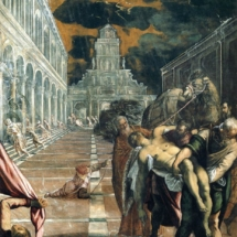 Tintoretto. St. Mark's Body Brought to Venice. 1562–1566.
