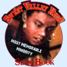 Slam Book Award: Most Memorable Minority