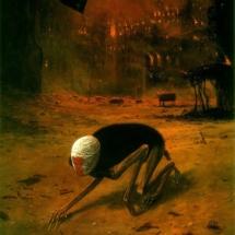 79. Zdzisław Beksiński's Nightmarish Paintings