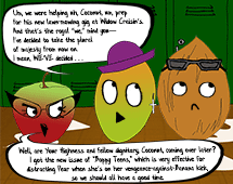 68. Mango and Squash attempt to keep their charity project a secret