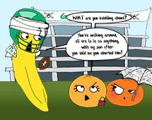 "112. Banana makes a startling ""discovery"""