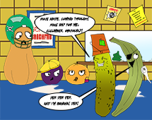 118. Plantain and Pickle debut as Banana and Cucumber