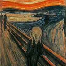 "Edvard Munch. ""The Scream."" c. 1893."