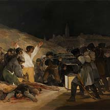 "Francisco Goya. ""The Third of May, 1808."" 1814."
