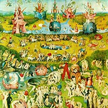 "Hieronymus Bosch. ""Garden of Earthly Delights (Center)."" 1510–15."