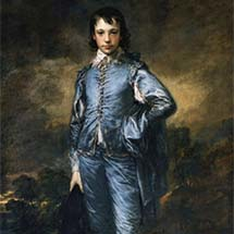 "Thomas Gainesborough. ""The Blue Boy."" c. 1770."