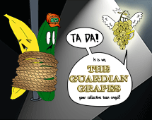 130. The Guardian Grapes pay a visit to Cucumber